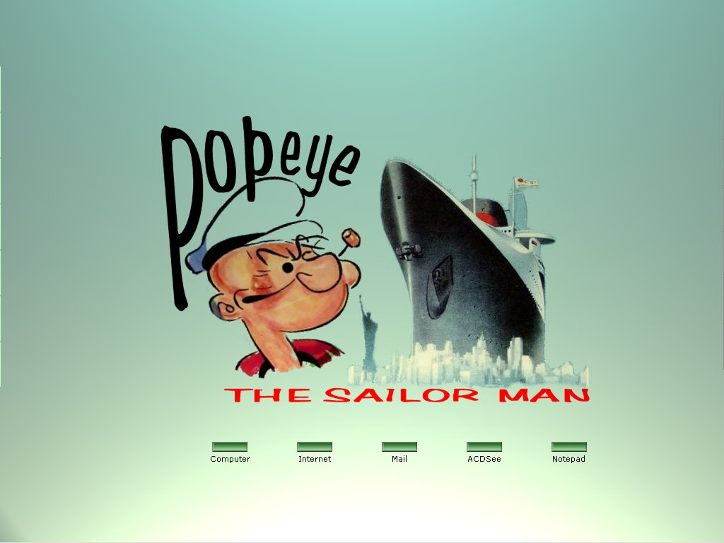 popeye sailorman