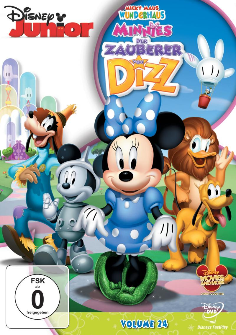 mickey mouse wunderhaus dvd
